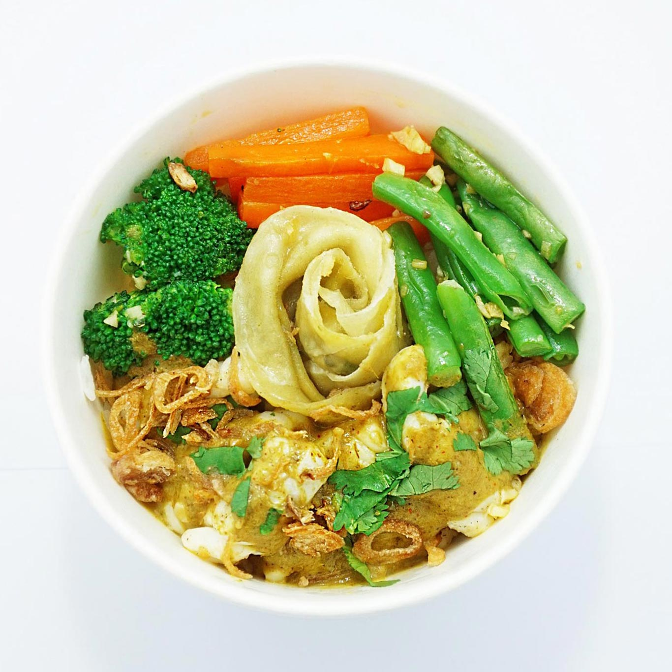 Lopodo Canggu Rice Bowl, Halal food in Bali